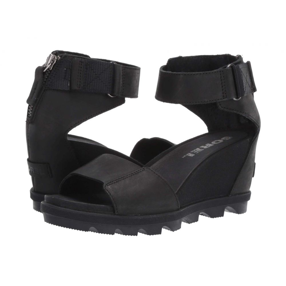 ソレル SOREL レディース シューズ・靴 ヒール【Joanie(TM) II Ankle Strap】Black Full Grain Leather