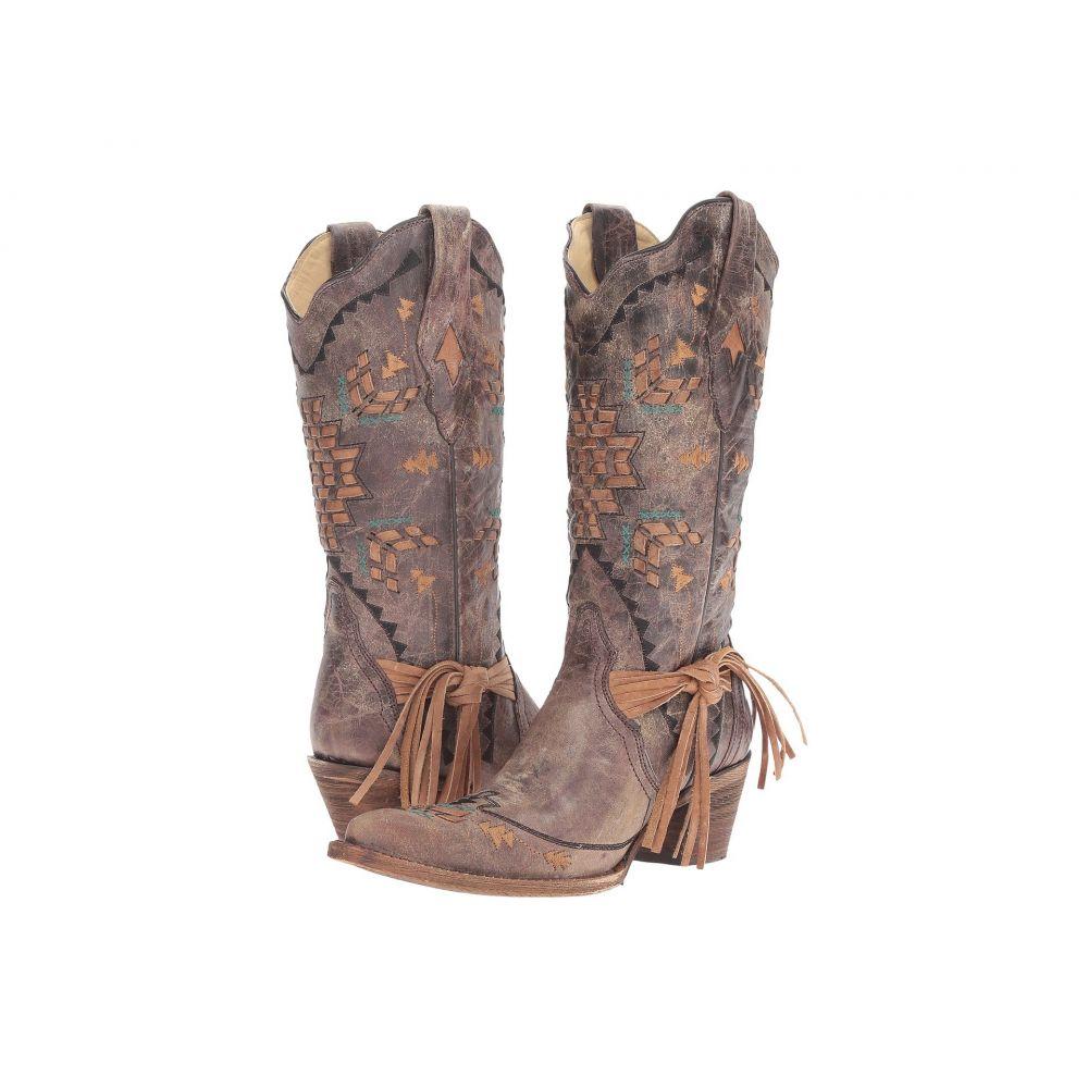 コラル Corral Boots レディース シューズ・靴 ブーツ【A2992】Cognac/Tobacco