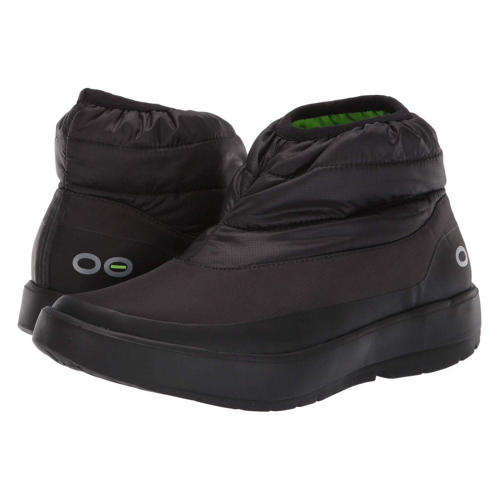 オーフォス OOFOS レディース シューズ・靴 ブーツ【Oomg Bootie】Black
