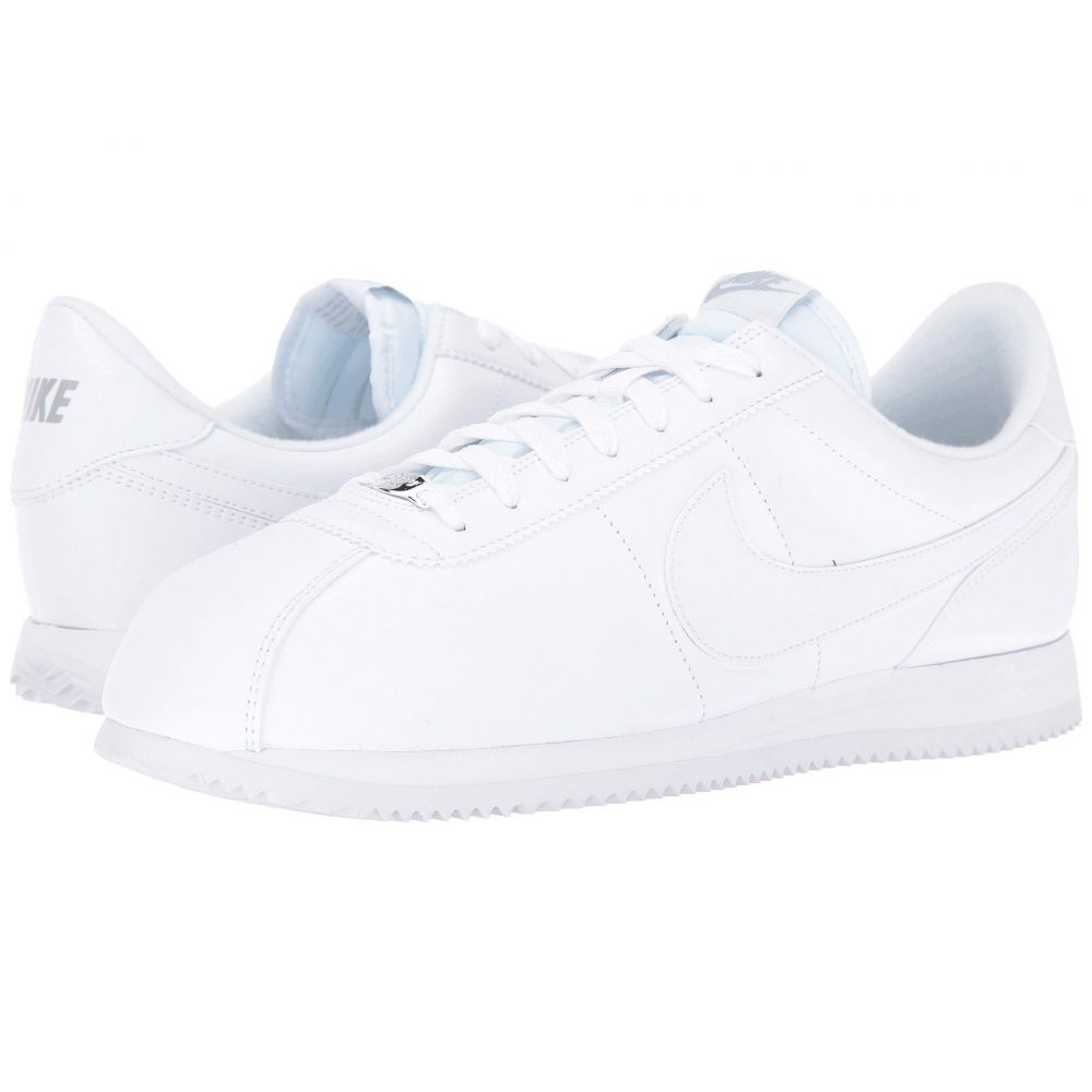 ナイキ Nike メンズ シューズ・靴 スニーカー【Cortez Leather】White/Wolf Grey/Metallic Silver/White