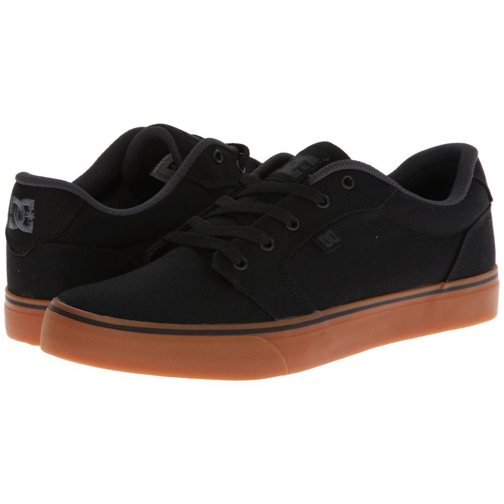 ディーシー DC メンズ シューズ・靴 スニーカー【Anvil TX】Black/Gum