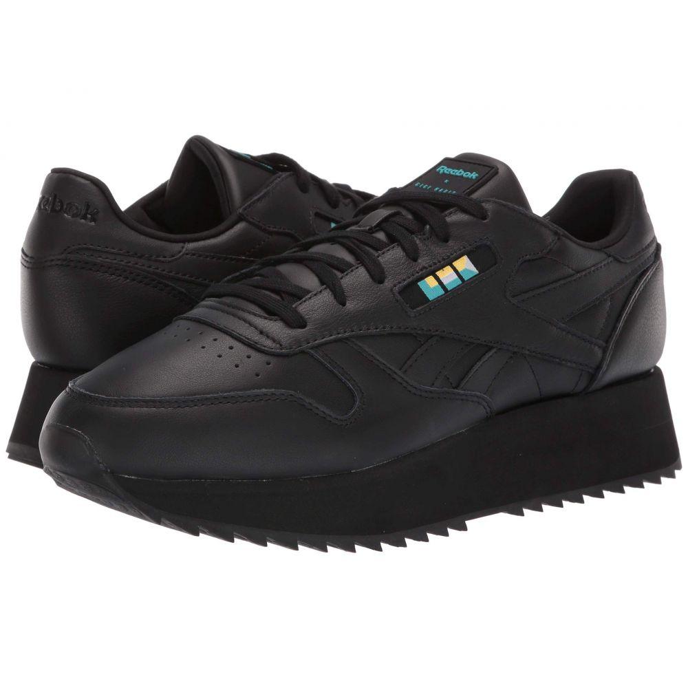 リーボック Reebok Lifestyle メンズ シューズ・靴 スニーカー【Classics Leather Double】Gigi-Black/White/Glacier