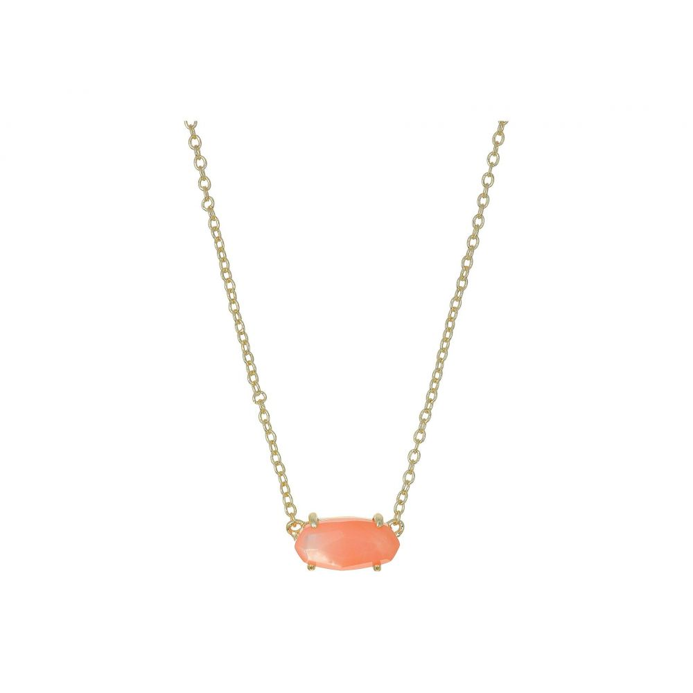 ケンドラ スコット Kendra Scott レディース ジュエリー・アクセサリー ネックレス【Ever Necklace】Gold/Peach Mother-of-Pearl