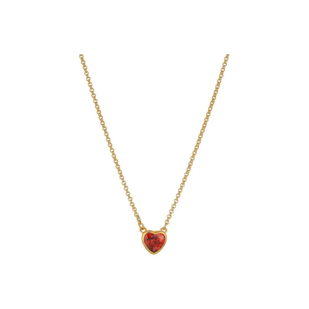 ケイト スペード Kate Spade New York レディース ジュエリー・アクセサリー ネックレス【Romantic Rocks Mini Pendant Necklace】Red