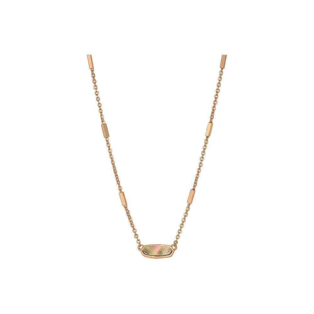 ケンドラ スコット Kendra Scott レディース ジュエリー・アクセサリー ネックレス【Miya Necklace】Rose Gold/Abalone Shell