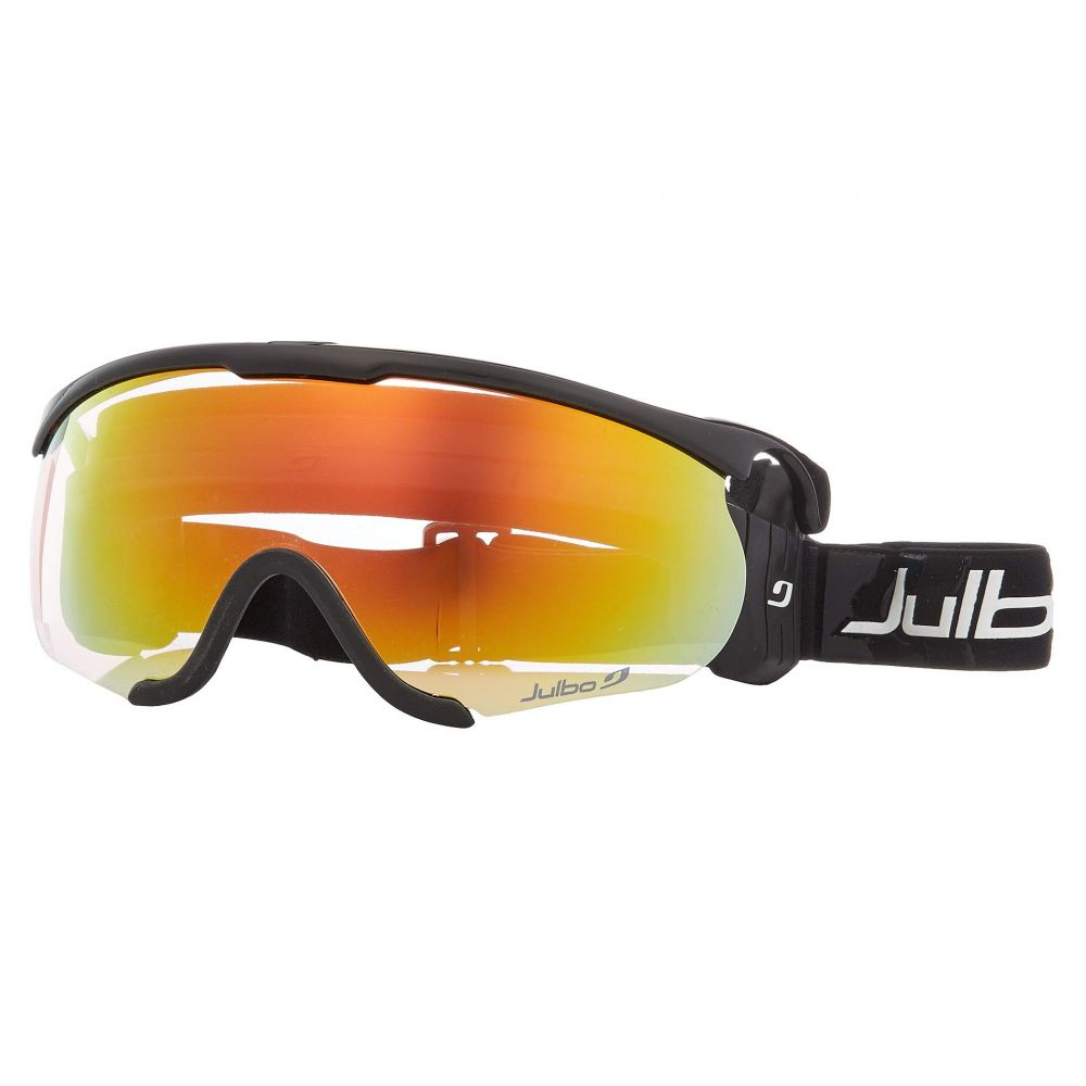 ジュルボ Julbo Eyewear レディース ゴーグル【Sniper M】Black/Black with Zebra Light Photochromic Lens