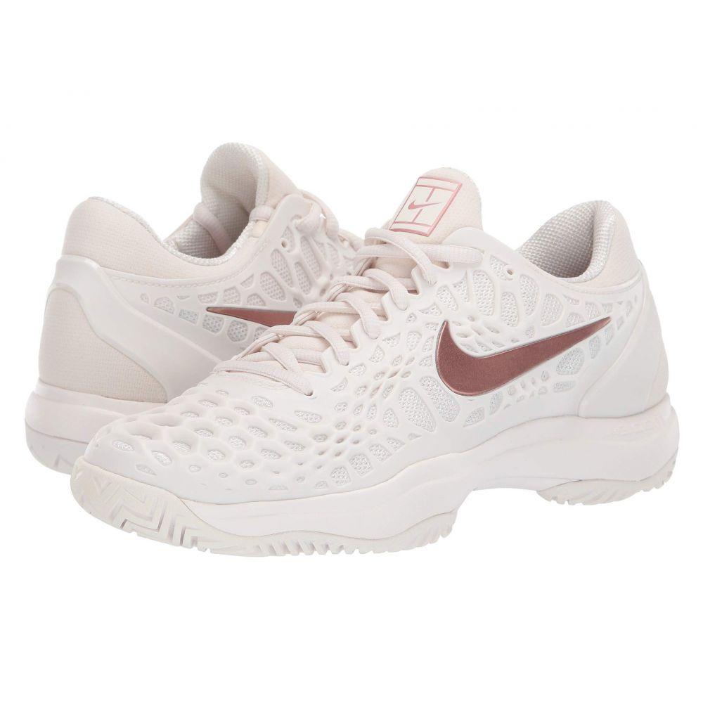 ナイキ Nike レディース テニス シューズ・靴【Zoom Cage 3 HC】Phantom/Metallic Rose Gold/Rose Gold