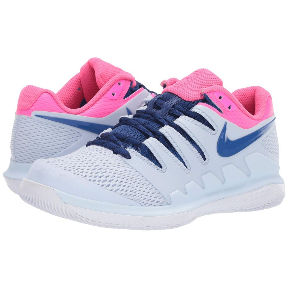 ナイキ Nike レディース テニス シューズ・靴【Air Zoom Vapor X】Half Blue/Indigo Force/Pink Blast/White