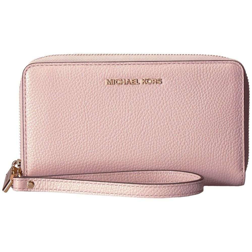 マイケル コース MICHAEL Michael Kors レディース スマホケース【Large Flat Multifunction Phone Case】Soft Pink 1