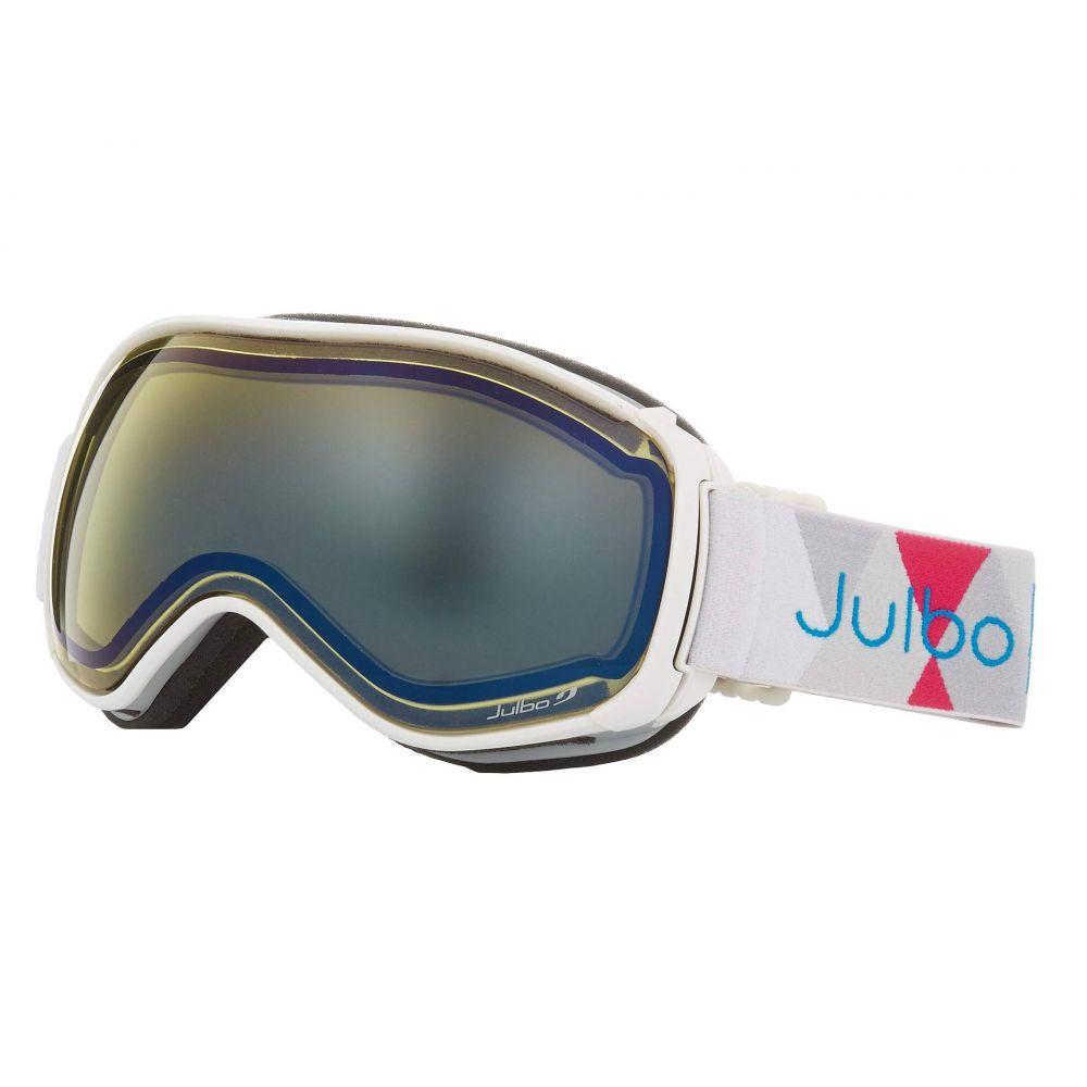ジュルボ Julbo Eyewear レディース ゴーグル【Ventilate】White/Blue with Pink Spectron 1 Color Flash Lens
