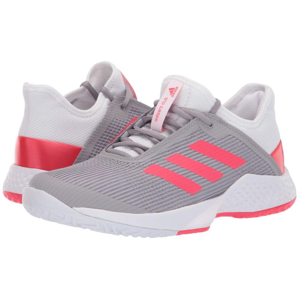 アディダス adidas レディース テニス シューズ・靴【Adizero Club 2】Footwear White/Shock Red/Light Granite
