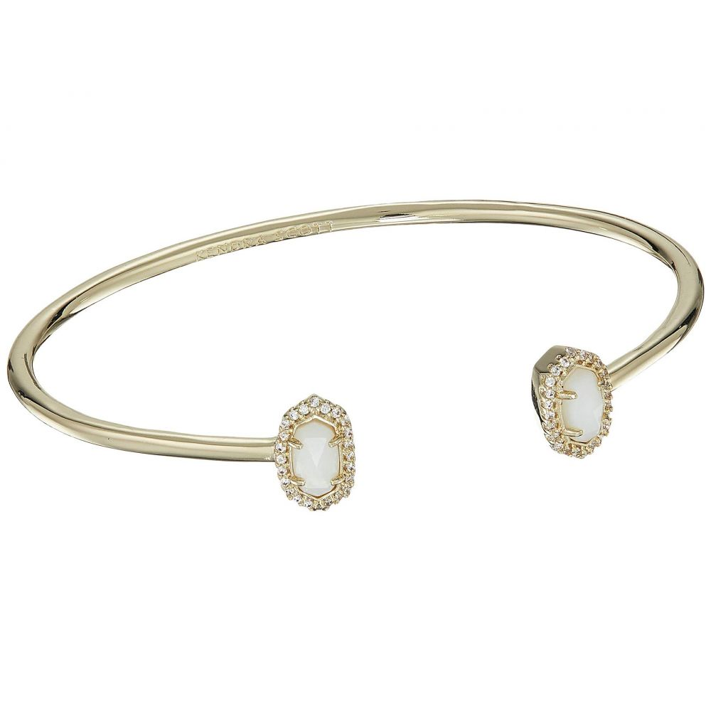 ケンドラ スコット Kendra Scott レディース ジュエリー・アクセサリー ブレスレット【Calla Bracelet】Gold/White Mother-of-Pearl