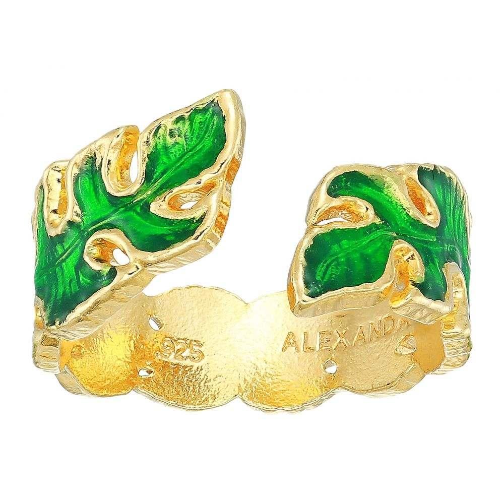 アレックス アンド アニ Alex and Ani レディース ジュエリー・アクセサリー 指輪・リング【Palm Leaf Adjustable Ring - Precious Metal】14KT Gold Plated