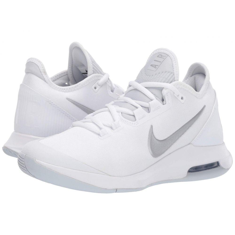ナイキ Nike レディース テニス シューズ・靴【Air Max Wildcard】White/Metallic Silver/White