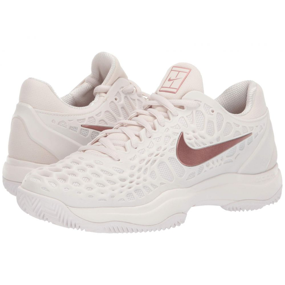 ナイキ Nike レディース テニス シューズ・靴【Zoom Cage 3 Clay】Phantom/Metallic Rose Gold/Rose Gold