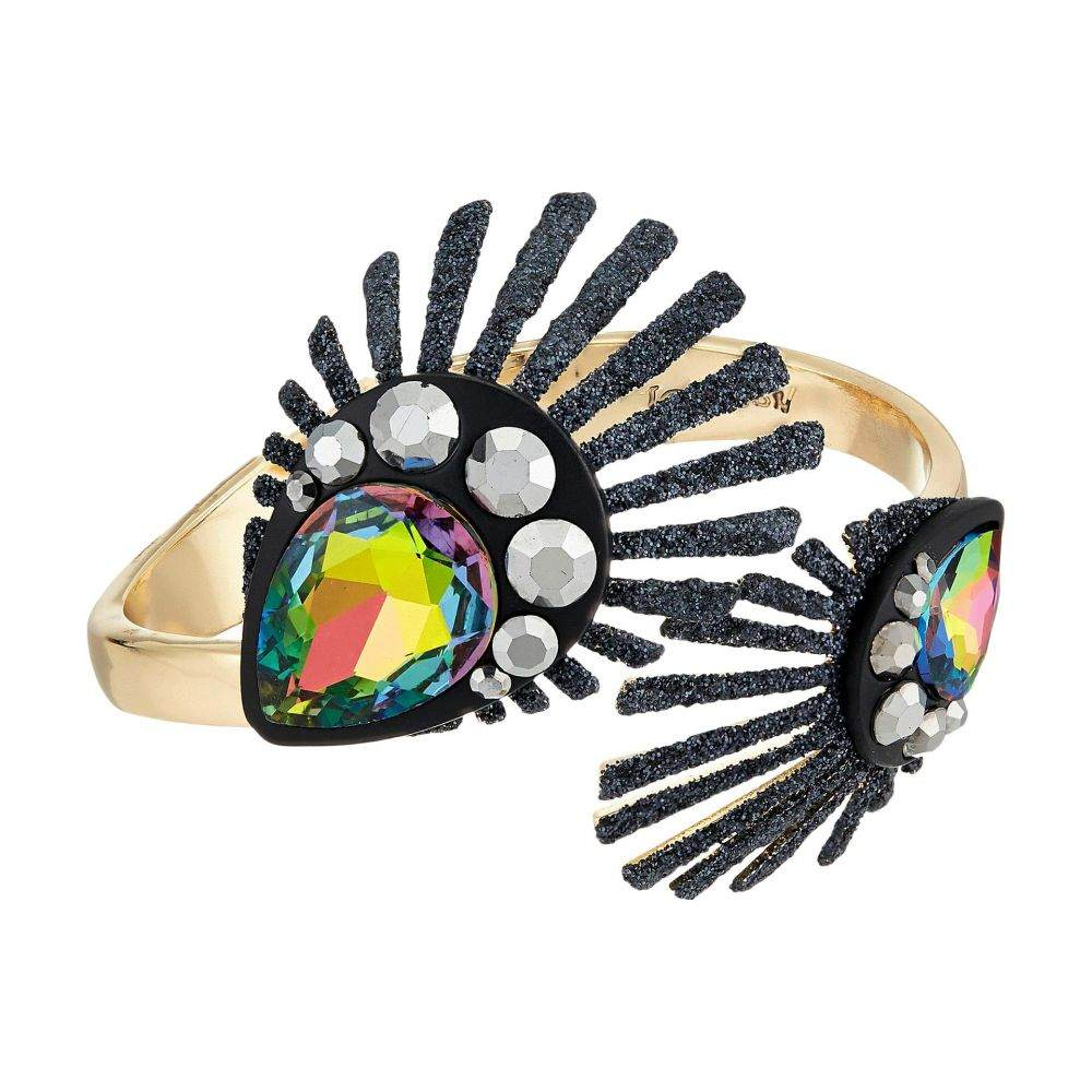 ベッツィ ジョンソン Betsey Johnson レディース ジュエリー・アクセサリー ブレスレット【Peacock Hinged Bracelet】Peacock Dark Multi