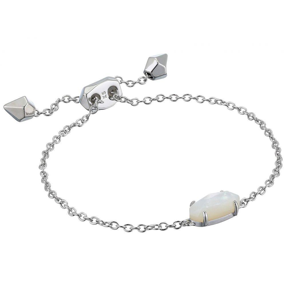 ケンドラ スコット Kendra Scott レディース ジュエリー・アクセサリー ブレスレット【Everlyne Bracelet】Rhodium/Ivory Mother-of-Pearl