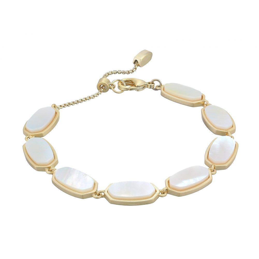 ケンドラ スコット Kendra Scott レディース ジュエリー・アクセサリー ブレスレット【Millie Bracelet】Gold/Ivory Mother-of-Pearl
