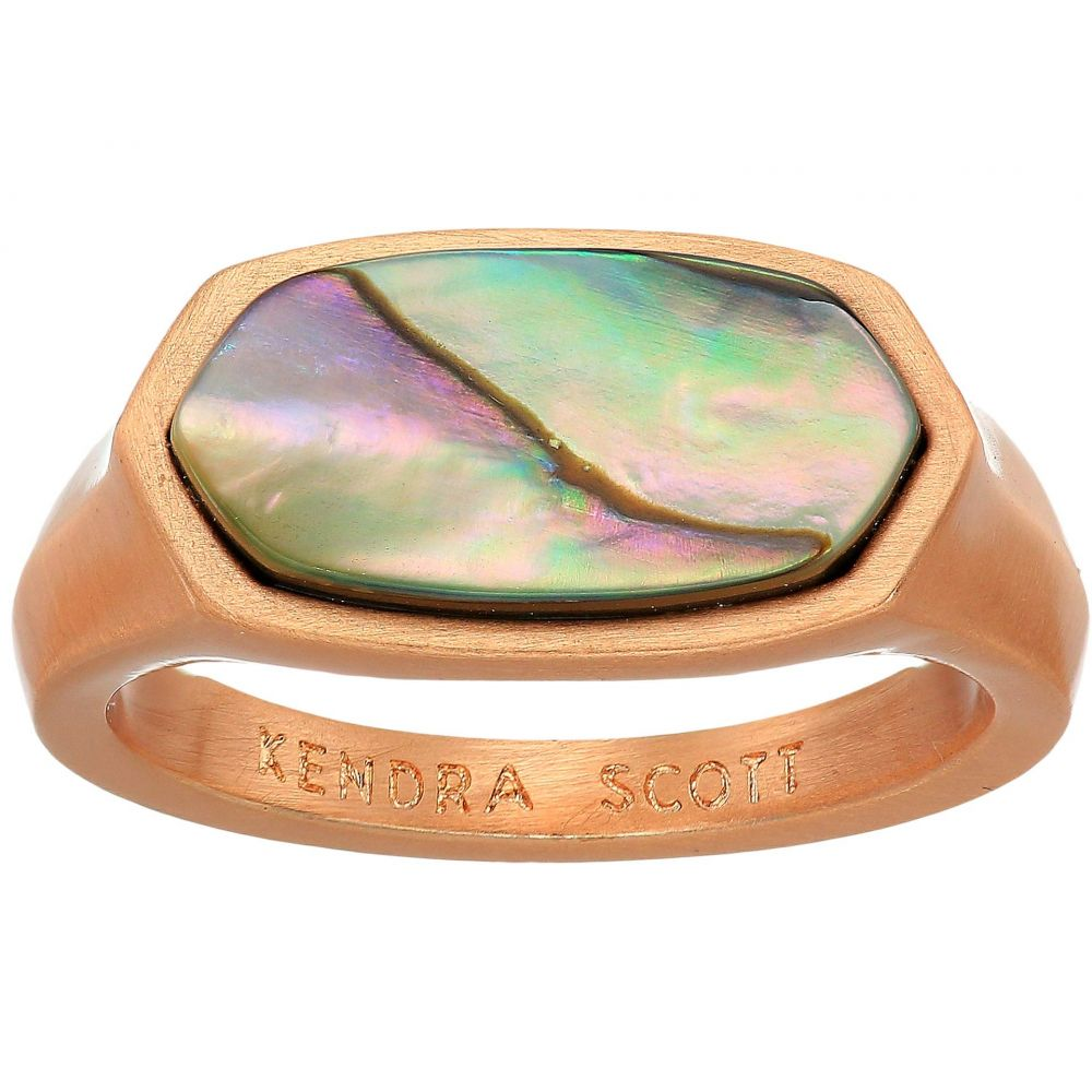 ケンドラ スコット Kendra Scott レディース ジュエリー・アクセサリー 指輪・リング【Mel Ring】Rose Gold/Abalone Shell