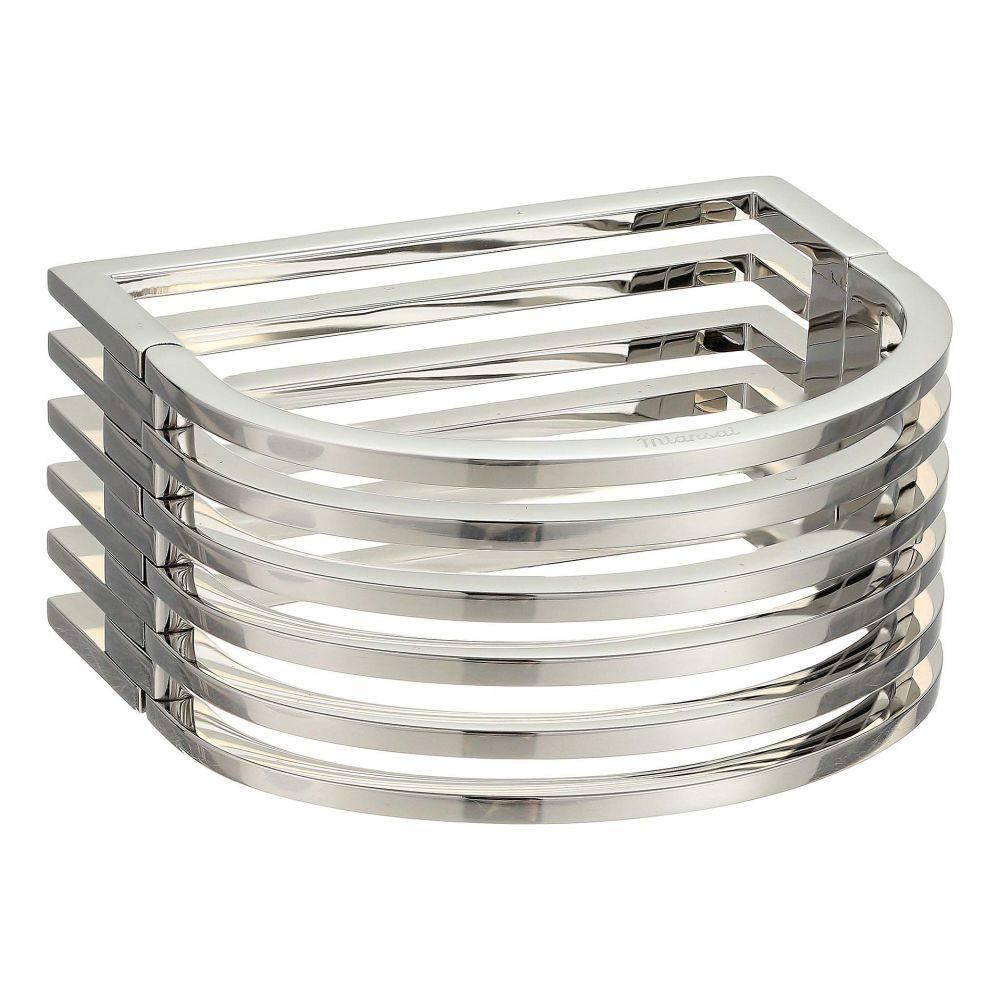 ミアンサイ Miansai レディース ジュエリー・アクセサリー ブレスレット【Triad Cuff】Polished Silver