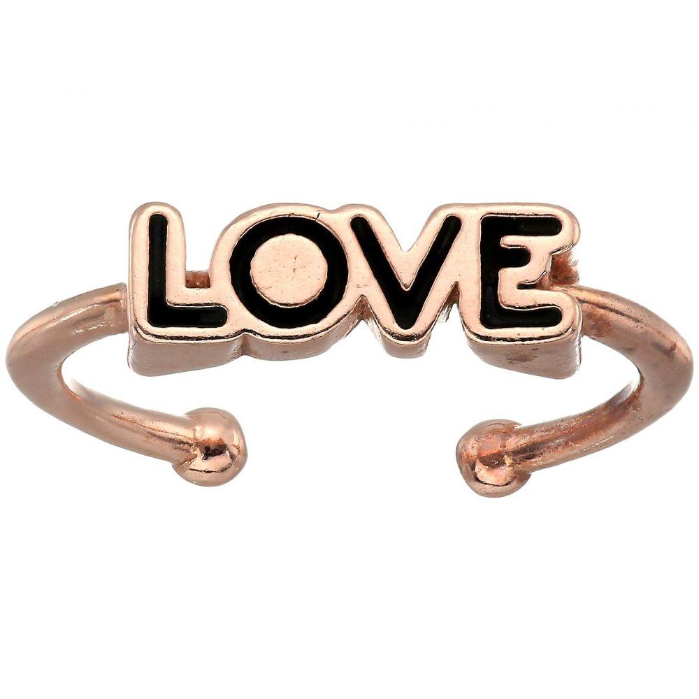 アレックス アンド アニ Alex and Ani レディース ジュエリー・アクセサリー 指輪・リング【Love Adjustable Ring】14KT Rose Gold Plated