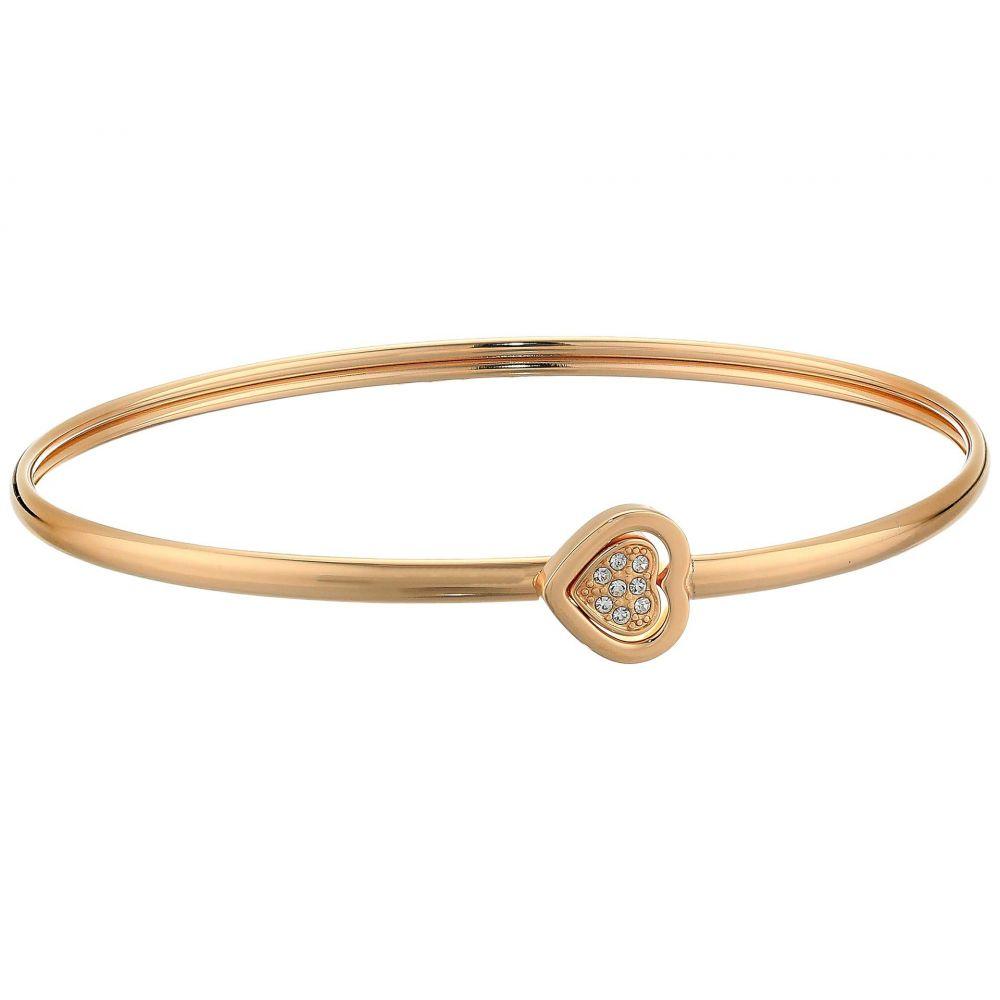 フォッシル Fossil レディース ジュエリー・アクセサリー ブレスレット【Two-Tone Hearts Bracelet】Rose Gold