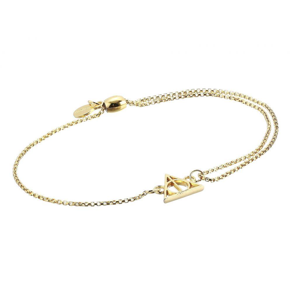 アレックス アンド アニ Alex and Ani レディース ジュエリー・アクセサリー ブレスレット【Harry Potter Deathly Hallows Pull Chain Bracelet】14KT Gold Plated