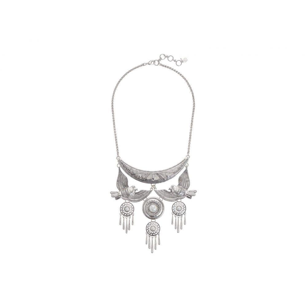 ラッキーブランド Lucky Brand レディース ジュエリー・アクセサリー ネックレス【Birds and Pearl Necklace】Silver