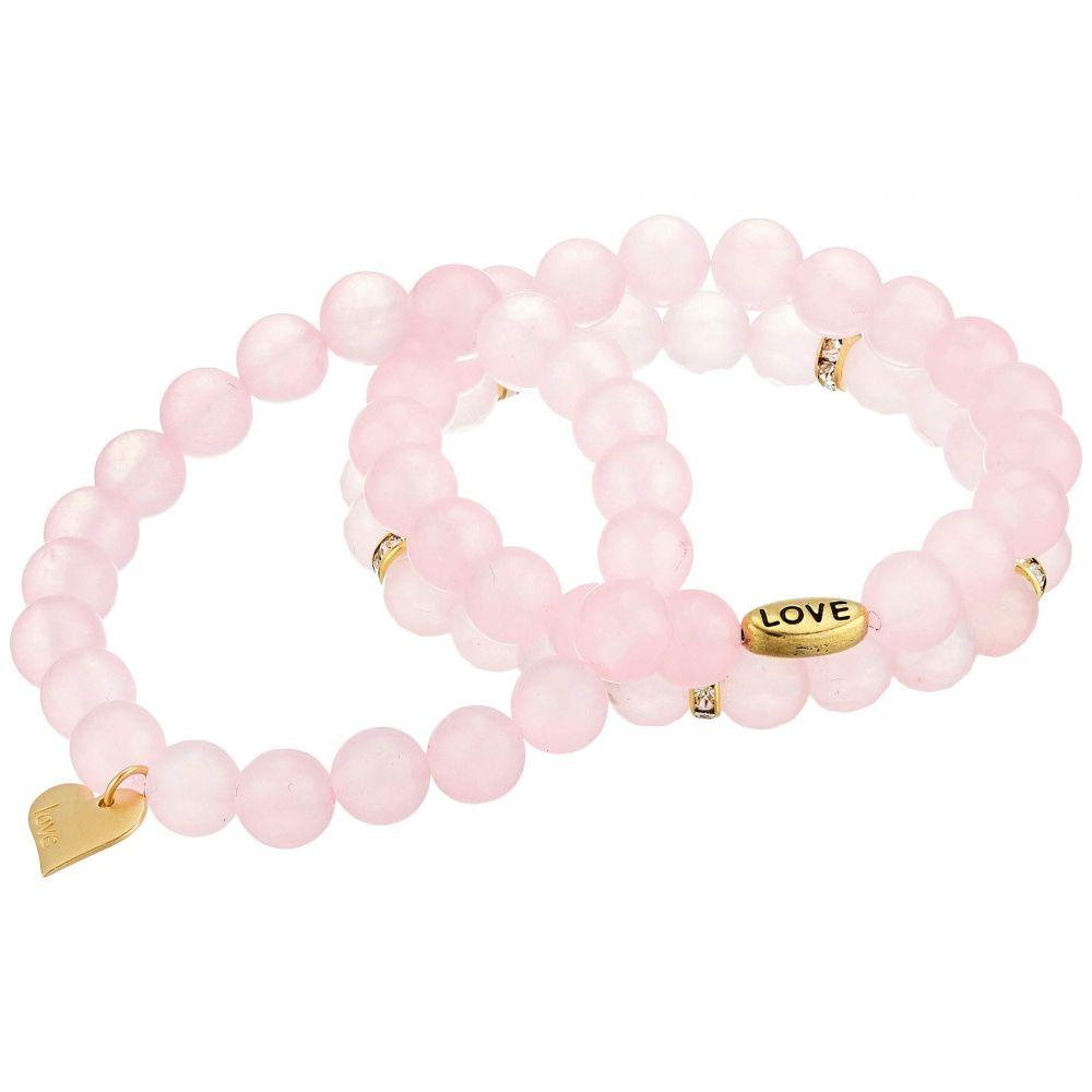 ディー バークレー Dee Berkley レディース ジュエリー・アクセサリー ブレスレット【Everlasting Love Beaded Bracelet】Pink