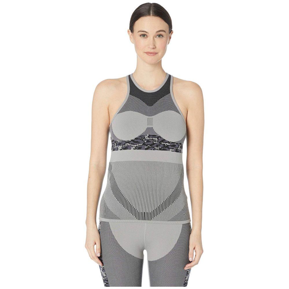 アディダス adidas by Stella McCartney レディース トップス タンクトップ【Run Prime Knit Tank DT9188】CH Solid Grey/Black