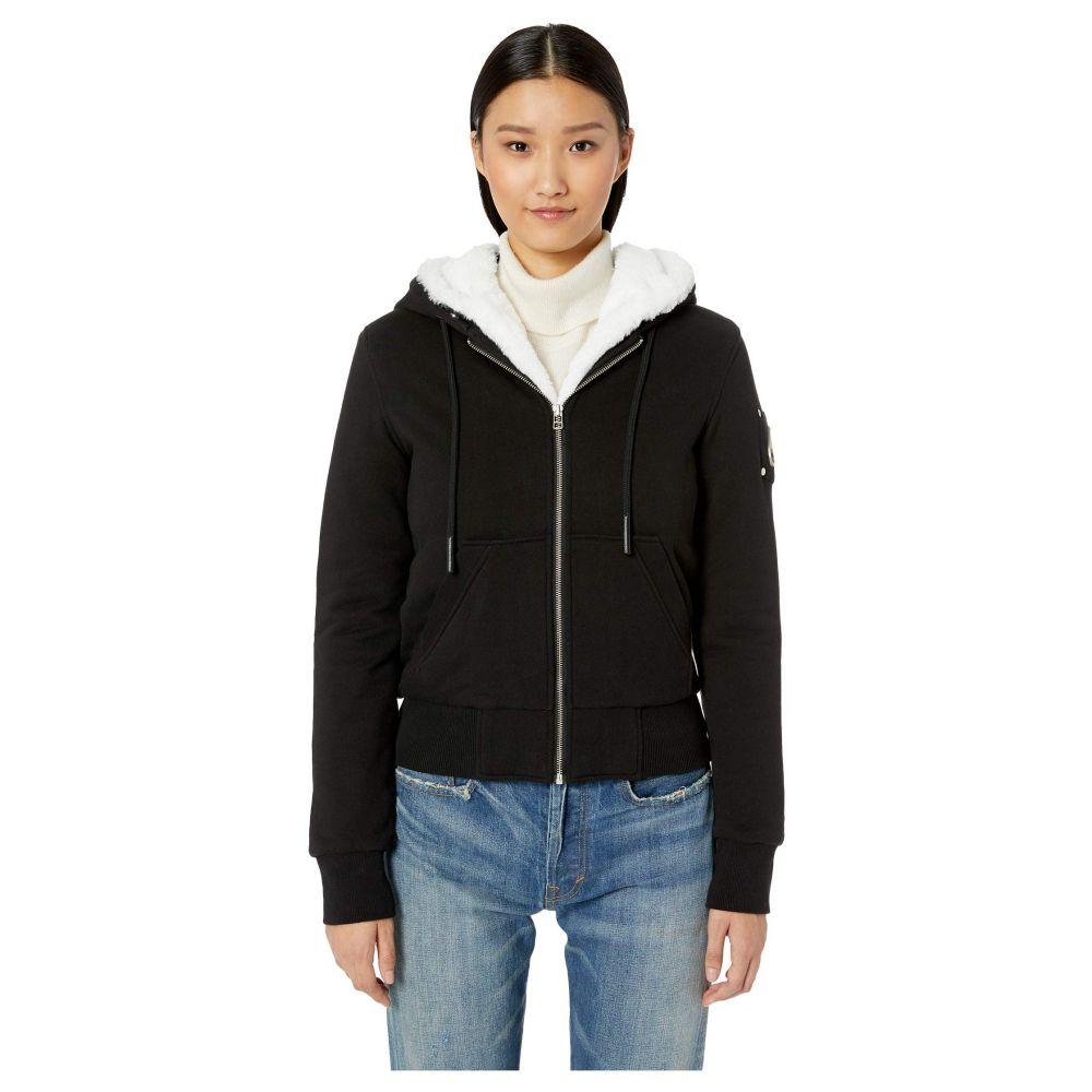 ムースナックル Moose Knuckles レディース トップス ニット・セーター【Her Bunny Sweater】Black/White