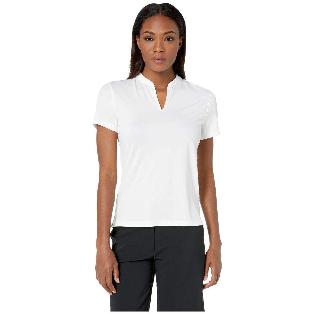ナイキ Nike Golf レディース トップス ポロシャツ【Dry Polo Short Sleeve Texture Blade】White/White/White