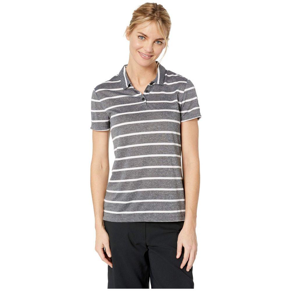 ナイキ Nike Golf レディース トップス ポロシャツ【Dry Polo Short Sleeve Stripe】Black/White/Black