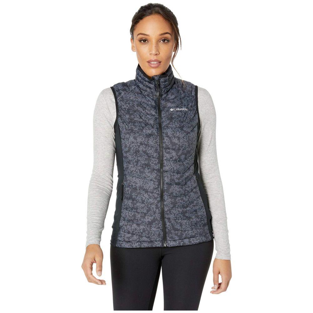 コロンビア Columbia レディース トップス ベスト・ジレ【Powder Pass(TM) Vest】Black Edelweiss Print