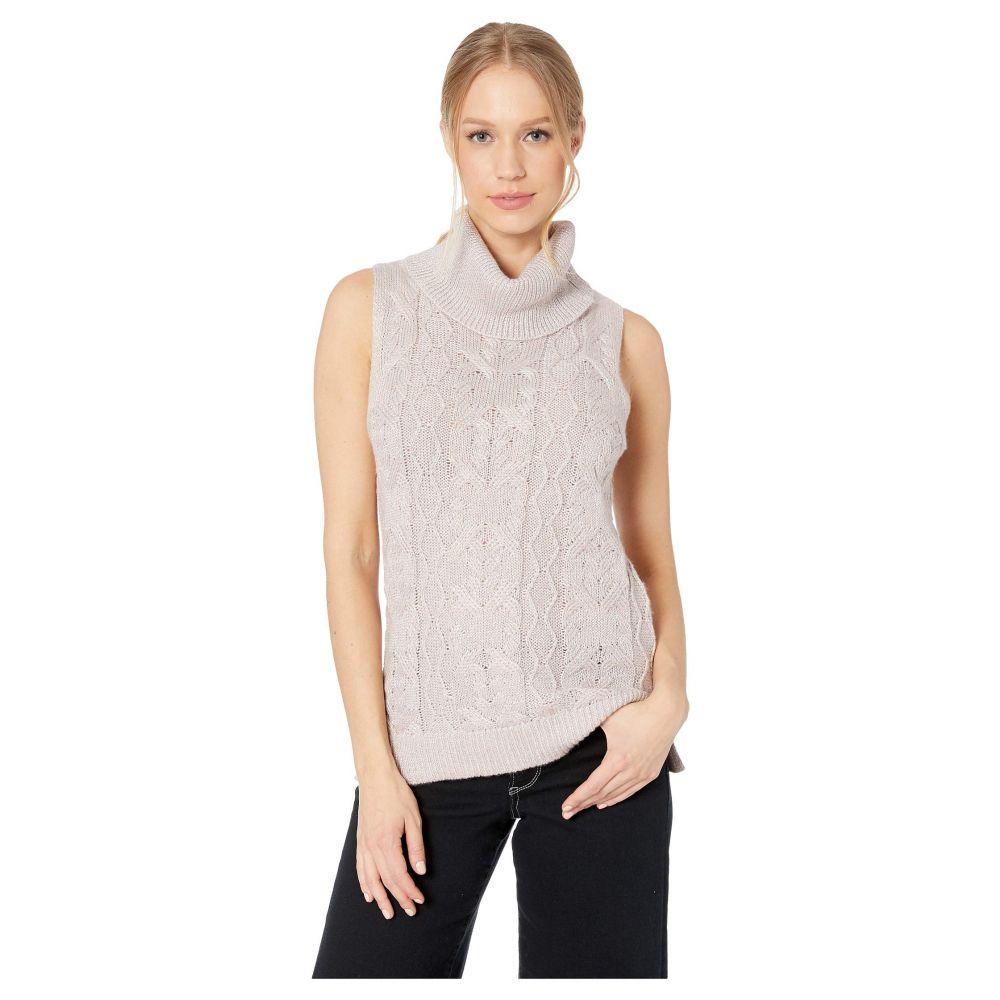 ビービーダコタ BB Dakota レディース トップス ベスト・ジレ【Sweater with Me Cable Knit Sweater Vest】Mauve Rose
