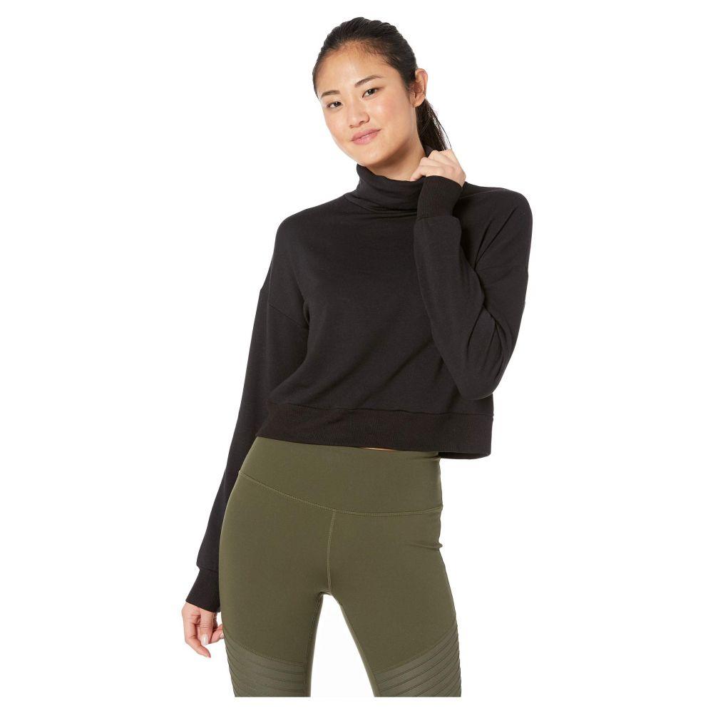 ビヨンドヨガ Beyond Yoga レディース トップス ベアトップ・チューブトップ・クロップド【All Time Cropped Pullover】Black