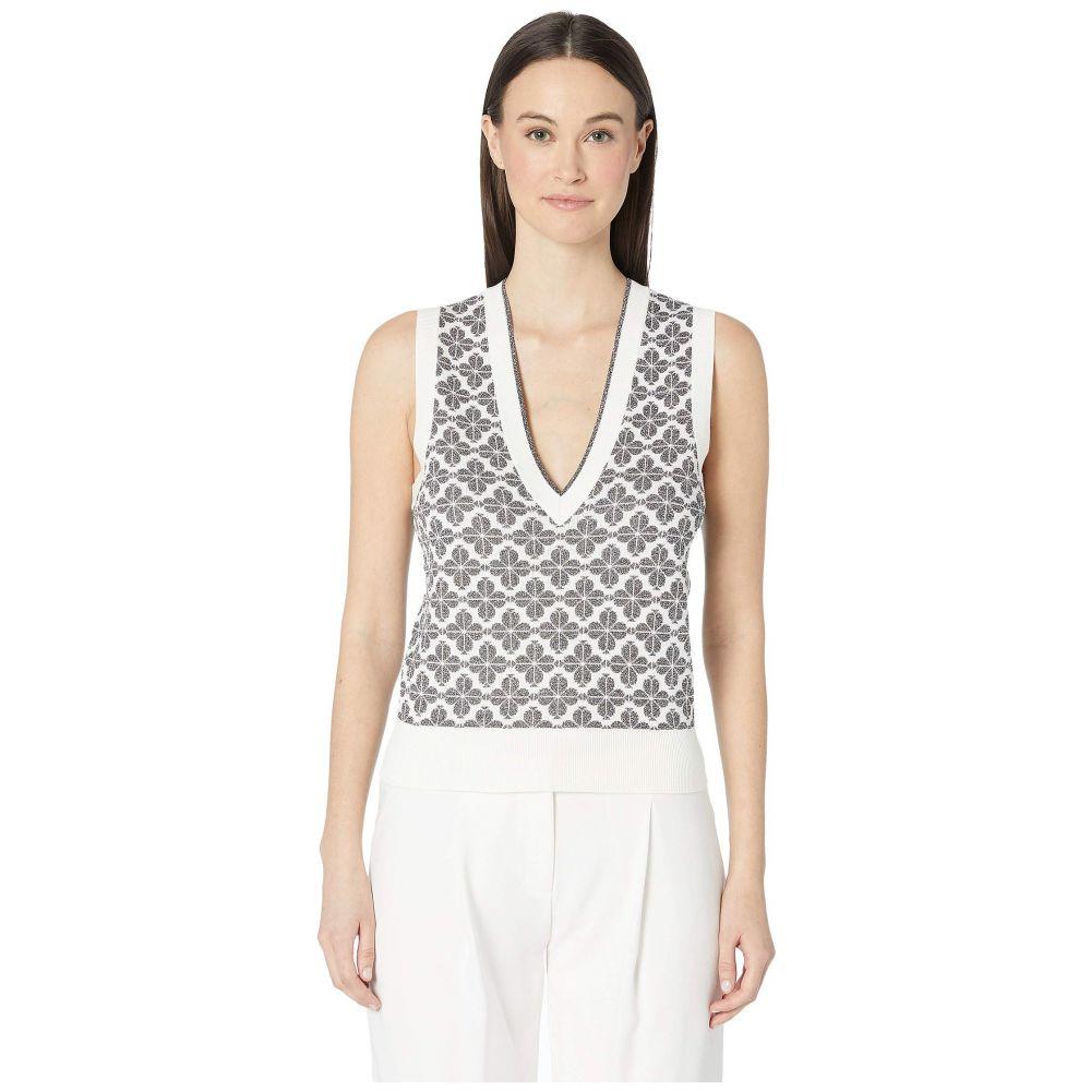 ケイト スペード Kate Spade New York レディース トップス ベスト・ジレ【Floral Sweater Vest】Black