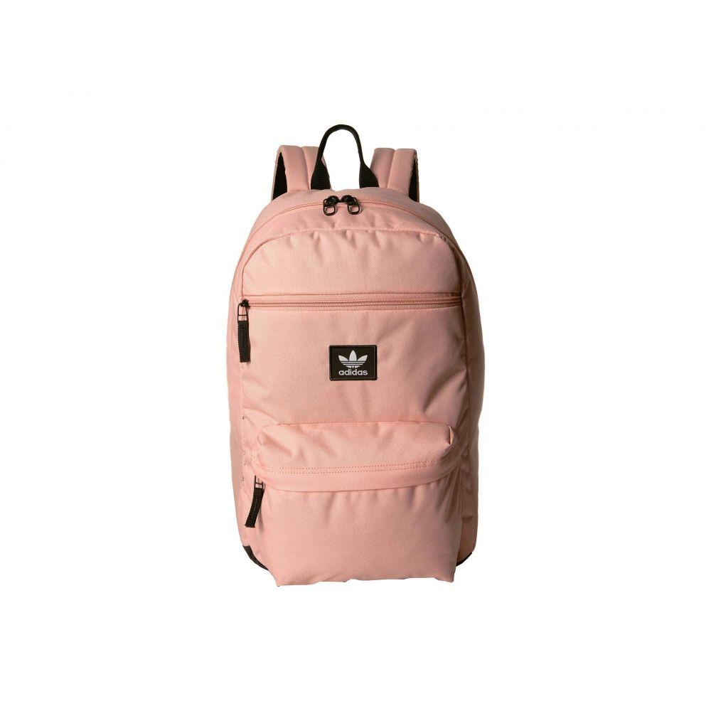 アディダス adidas Originals レディース バッグ バックパック・リュック【Originals National Backpack】Dust Pink/Black