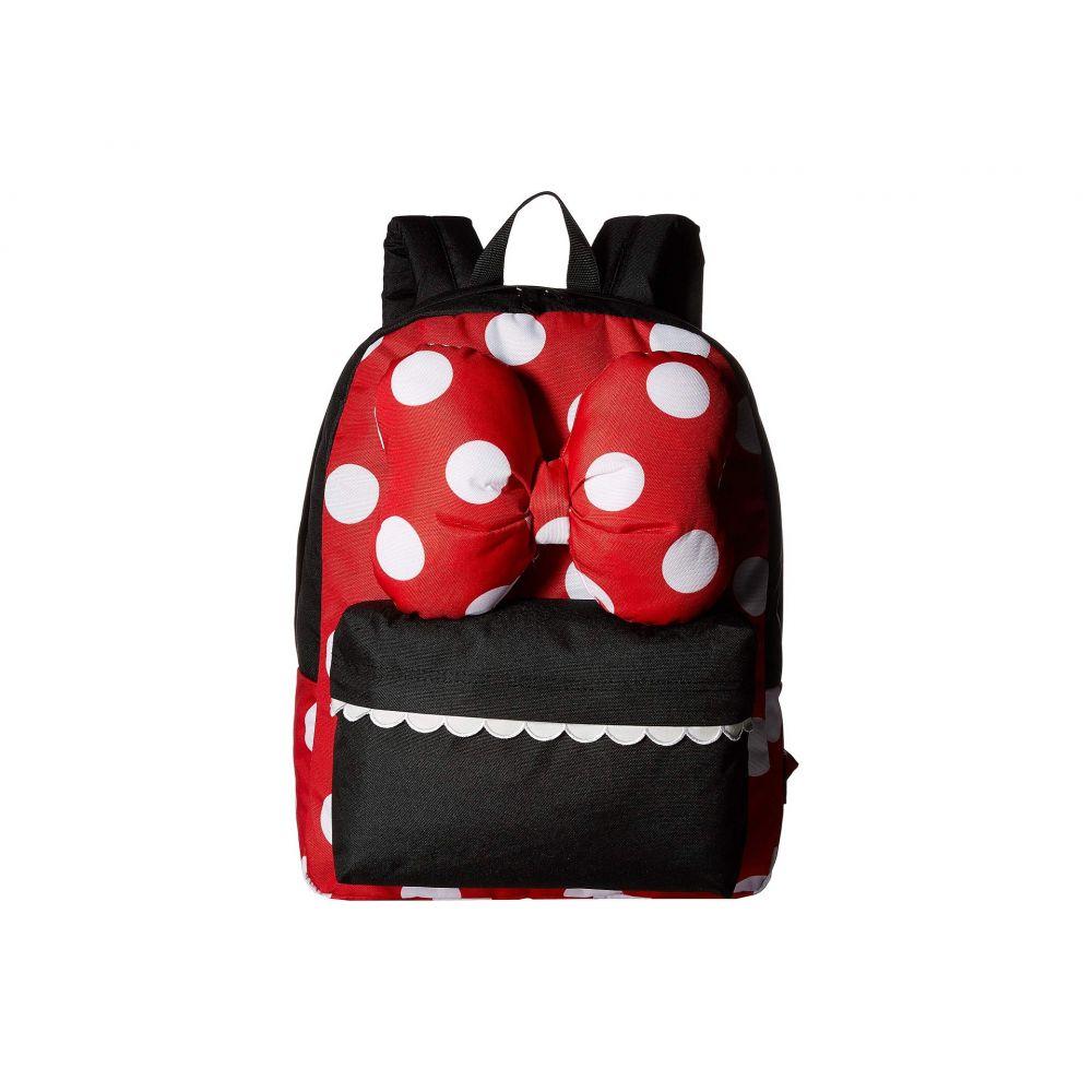 ヴァンズ Vans レディース バッグ バックパック・リュック【Mickey's 90th Minnie Realm Backpack】Racing Red