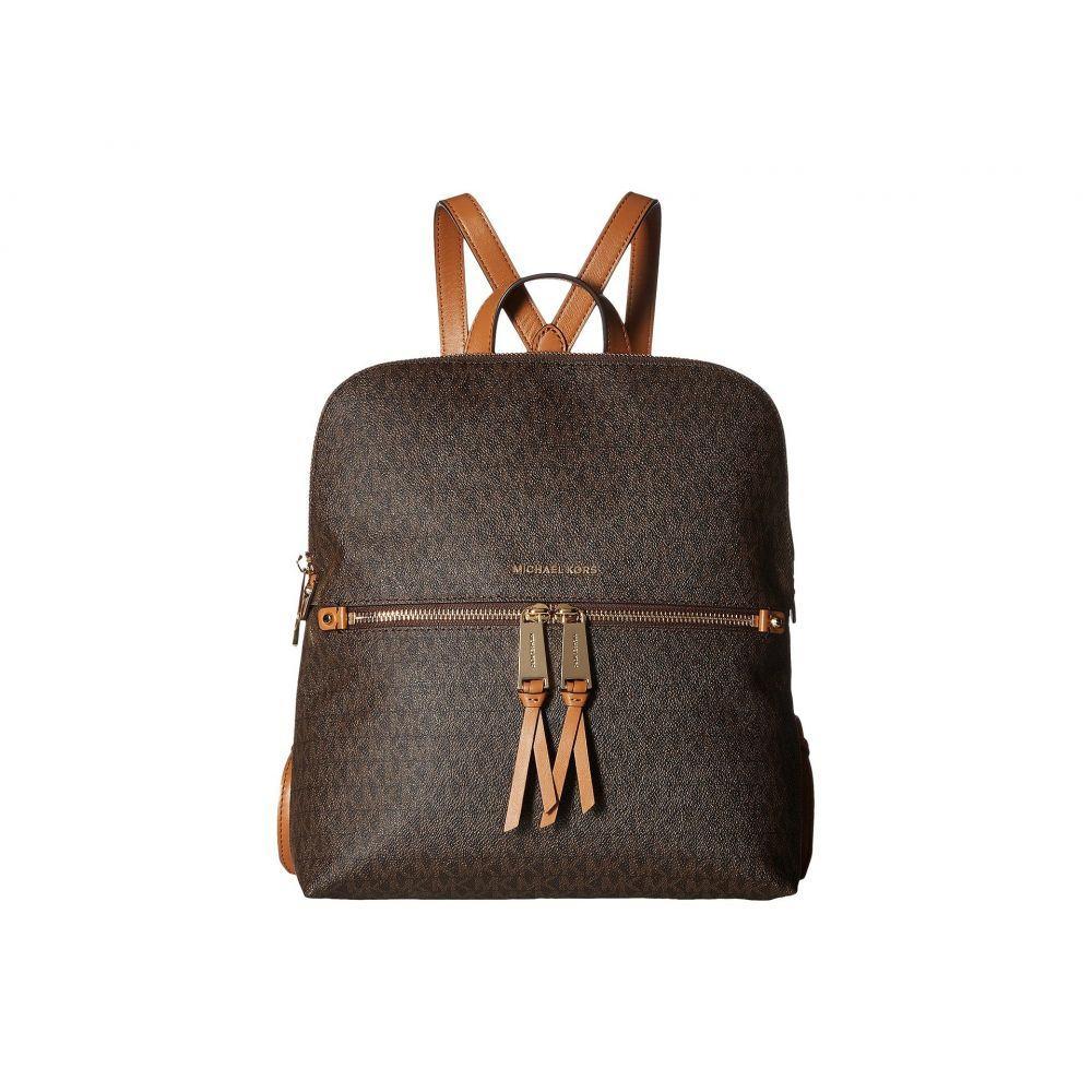 マイケル コース MICHAEL Michael Kors レディース バッグ バックパック・リュック【Rhea Zip Medium Slim Backpack】Brown