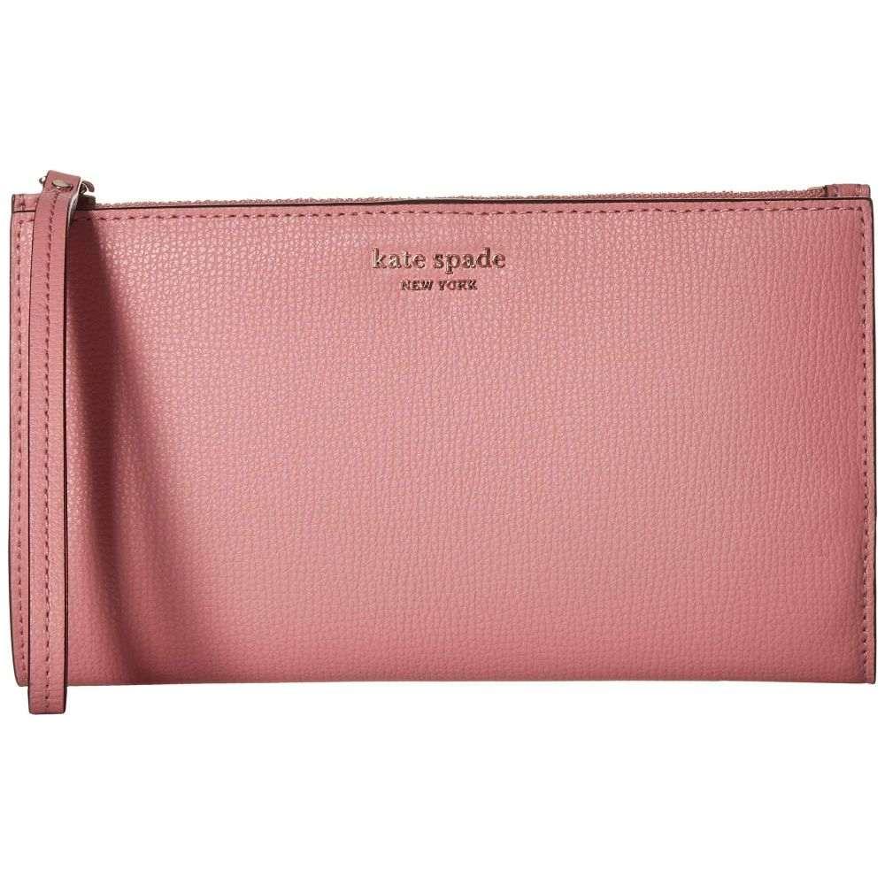 ケイト スペード Kate Spade New York レディース バッグ ハンドバッグ【Sylvia Large Continental Wristlet】Rococo Pink