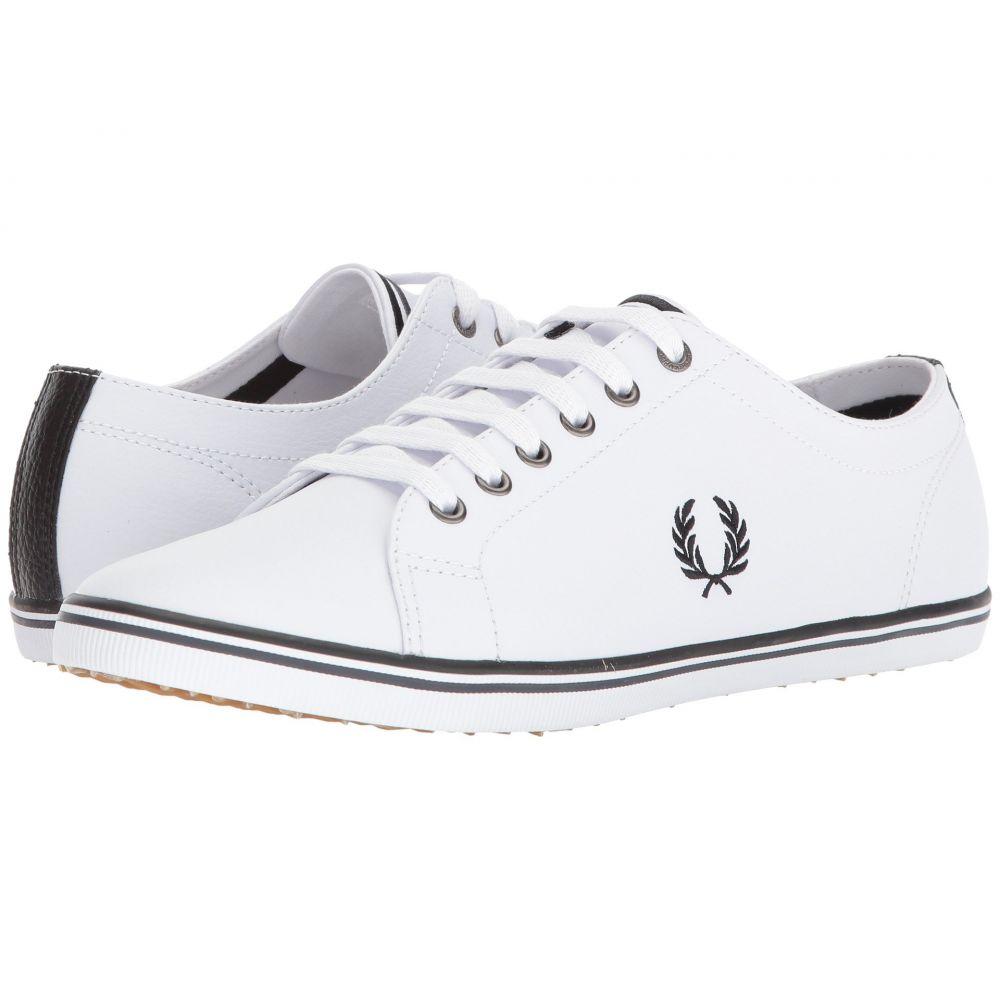 フレッドペリー Fred Perry メンズ シューズ・靴 スニーカー【Kingston Leather】White/Black/Charcoal