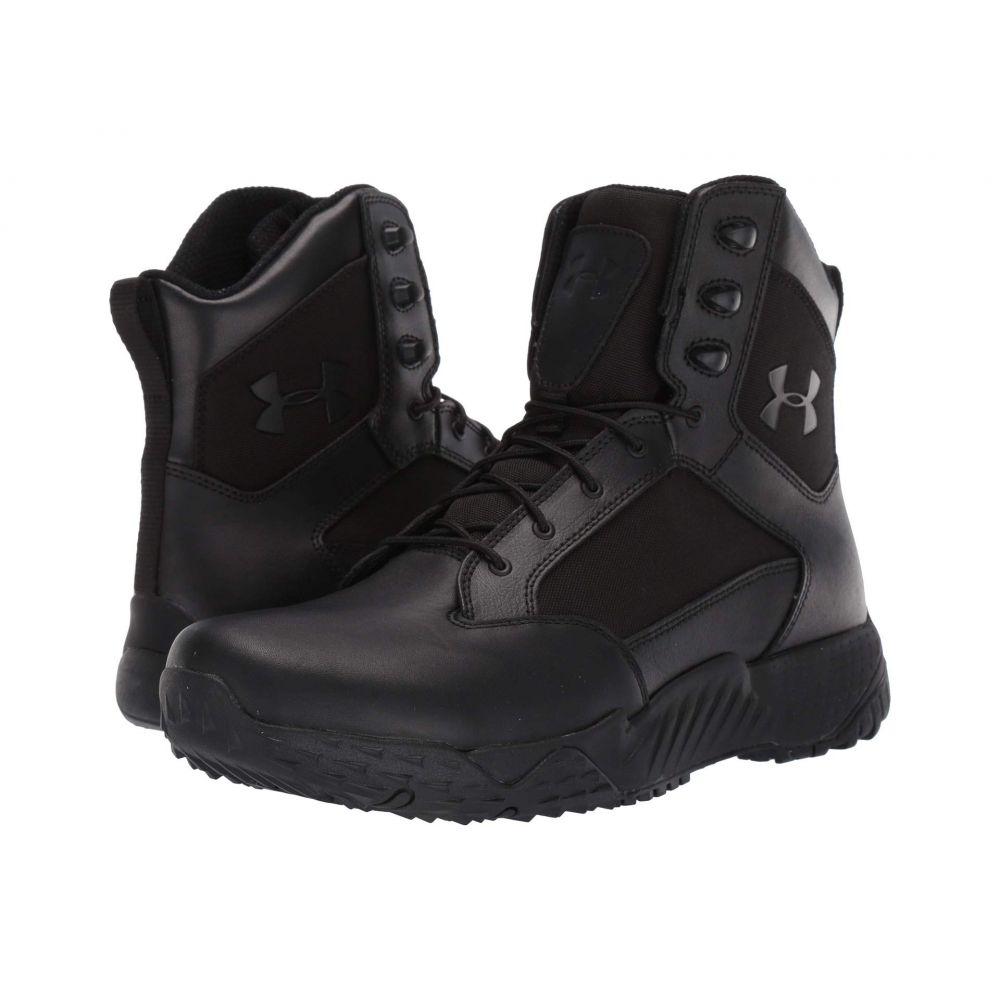 アンダーアーマー Under Armour メンズ シューズ・靴 スニーカー【UA Stellar Tac WP】Black/Black/Black