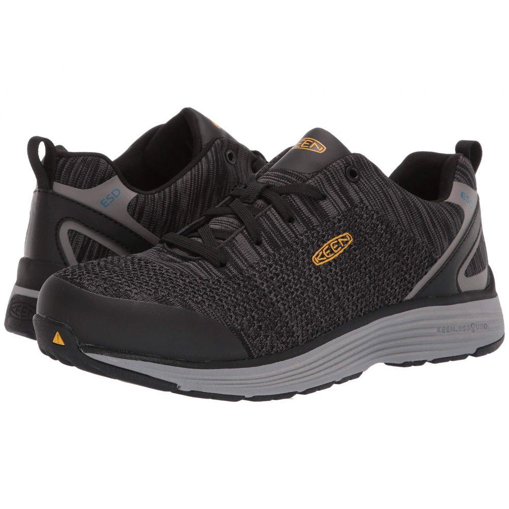キーン Keen Utility メンズ シューズ・靴 スニーカー【Sparta ESD】Black/Grey Flannel