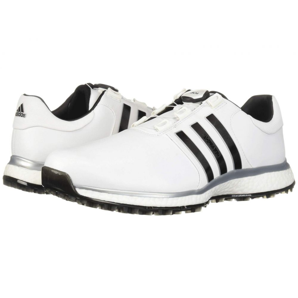 アディダス adidas Golf メンズ シューズ・靴 スニーカー【Tour360 XT Spikeless Boa】Footwear White/Core Black/Silver Metallic
