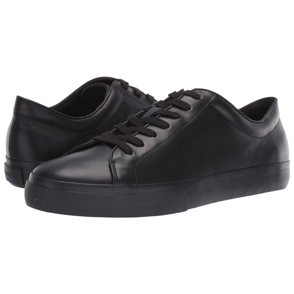 ヴィンス Vince メンズ シューズ・靴 スニーカー【Farrell】Black Calf Leather