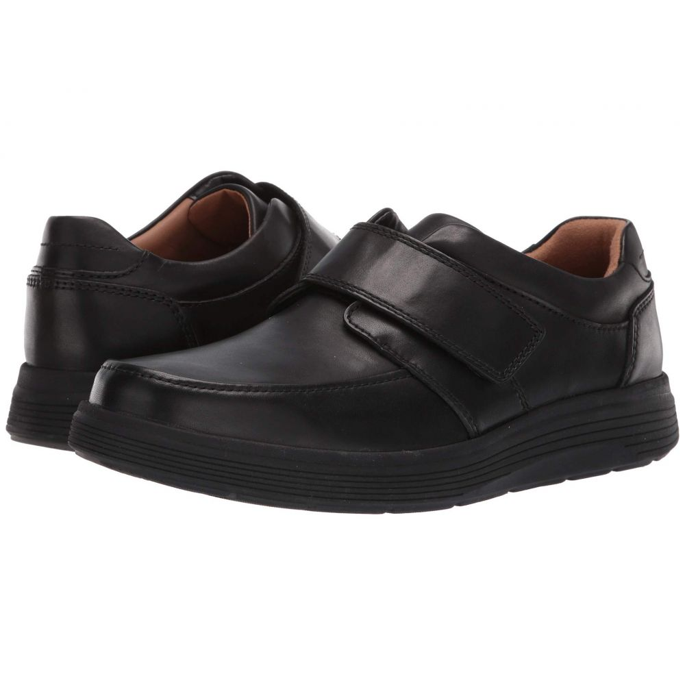 クラークス Clarks メンズ シューズ・靴 スニーカー【Un Abode Strap】Black Leather