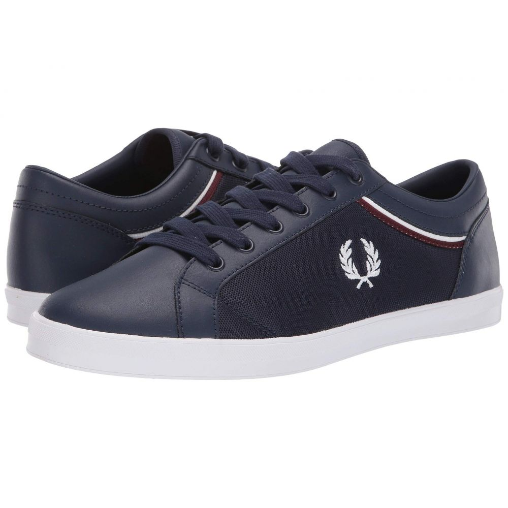 フレッドペリー Fred Perry メンズ シューズ・靴 スニーカー【Baseline Tipped Collar Mesh】Carbon Blue/White