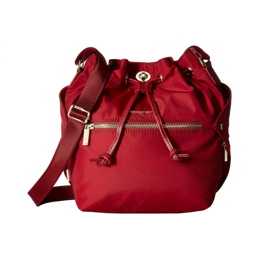ヘデグレン Hedgren レディース バッグ ハンドバッグ【Prisma Cuboid Bucket】Pomegranate