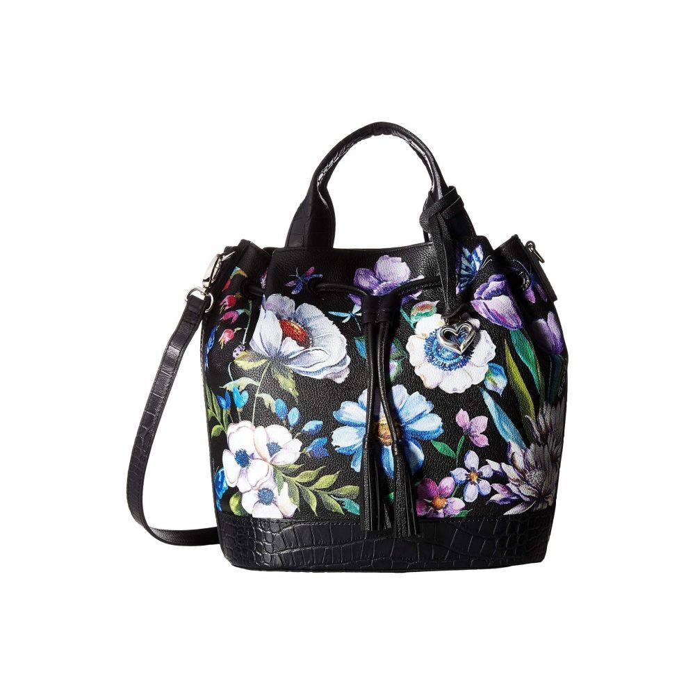 ブライトン Brighton レディース バッグ ハンドバッグ【Tulip Drawstring Bucket Bag】Black Multi